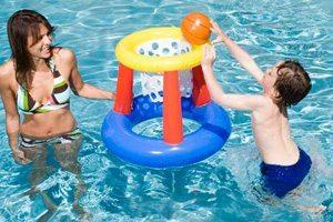 basketball hoop game for pools