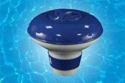 Floating dispenser for chorine tablets