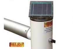 helios solar powered swimming pool reel system