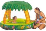 Jungle hideaway play pool