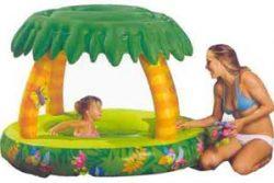 Jungle hideaway play pool