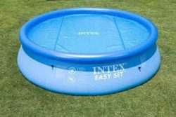 solar cover for small intex pool