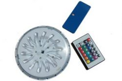 magnetic coloured pool light for above ground pools