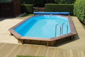 Plastica Stretched wooden Pool