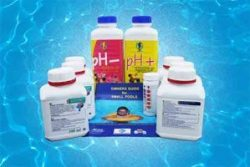 starter pack of chemicals for small pools