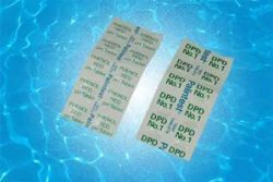 dpd test tablets to test swimming pool water