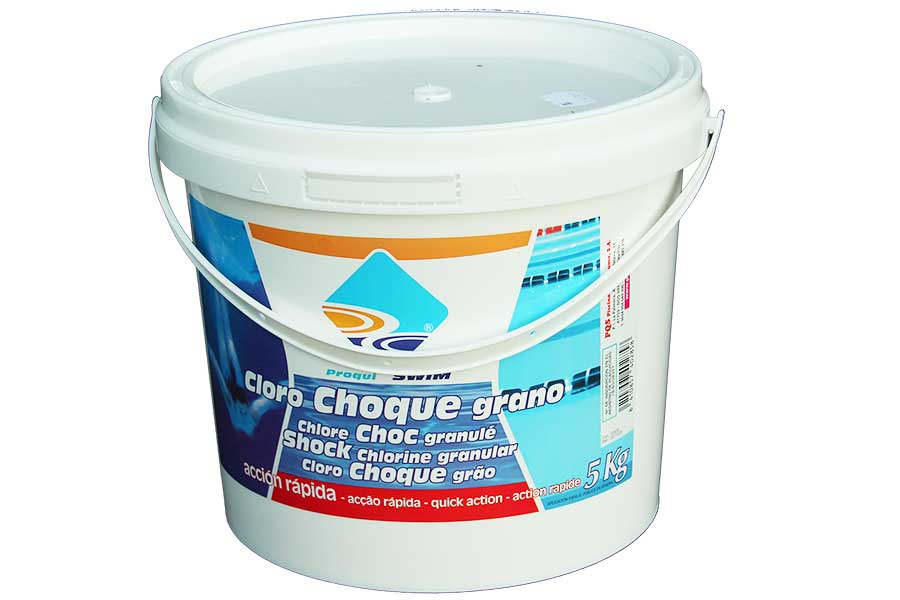 Chlorine shock for swimming pools 4x5kg - Chlorine calculator for swimming pools ...