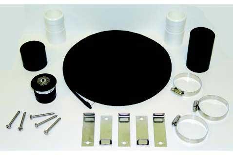solar panel full fixing kit