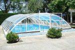 Velsa Plus swimming pool enclosure- external view