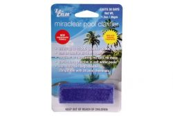 clears cloudy pools up to 15,000 gallons volume