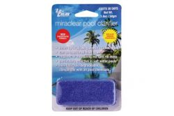 clears cloudy pools up to 30,000 gallons volume