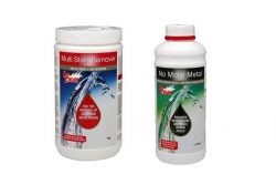 stain removal product for swimming pools