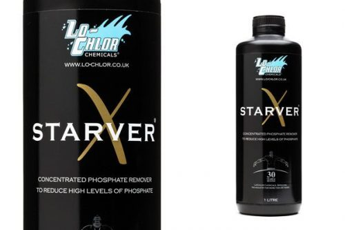 Starver X to remove phosphates from your swimming pool
