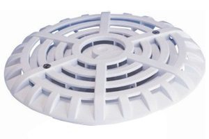 main drain cover for swimming pool, domed lid only
