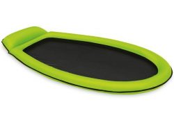 Intex mesh lounger in green