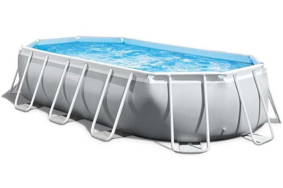 Intex Prism Frame 9ft X 16ft 6 Oval Swimming Pool Intex